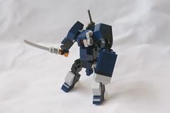 DNF-07S Anubis Swordsman variant (milt69466) Tags: mecha mech moc microscale mechaton mfz mf0 mobileframezero brickblent