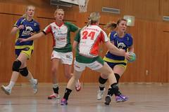 "VL2F Handball SG Überruhr 2. Frauen vs. NHC 1. Frauen 08.02.2014 011 • <a style=""font-size:0.8em;"" href=""http://www.flickr.com/photos/64442770@N03/12393164485/"" target=""_blank"">View on Flickr</a>"