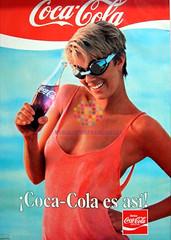 """Coca Cola. """"Es así. Piscina"""". Años 80"""