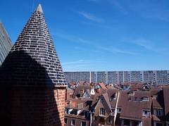 Koobrzeg, Poland (TomaszGabryszak) Tags: sky town blocks