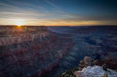 Sunset Yaci Point (alreformed) Tags: sunset arizona landscape evening nationalpark rocks grandcanyon hdr colorfulsky tamron1750 nikond7000 yacipoint