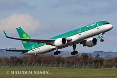 B757-2Q8 EI-LBR AER LINGUS (shanairpic) Tags: irish shannon aerlingus boeing757 b757 jetairliner aircontractors eilbr