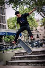 JUMP! (Andycobain Ph+) Tags: argentina jump skateboarding mendoza flip skate skater trick sk8 plazasanmartin