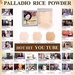 เลือกสี กันเลยจร้า เนื้อเนียนละเอียดสุดๆ ไม่เป็นคราบ ยอมรับเลย ผ่องเด้งสุดๆๆ ราคาเบาๆ 350 บาท   แป้งฝุ่น Rice Powder ส่วนผสมจากข้าว100% ทำให้ไม่เกิดอาการแพ้ เนื้อเนียนละเอียดแป้งในตำนานห้องแป้ง พันทิพ สุดโด่งดังในอเมริกา   ส่วนผสมหลักเป็นข้าวสกัดจากธรรมชา
