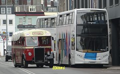 Leyland Enviro (Coco the Jerzee Busman) Tags: bus bristol tiger ps1 cannon jersey swift char tours banc leyland stringer wadham lcb ecw lh6l