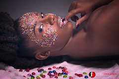 Candy Crush And Not Enough Candy (Joel Finnigen) Tags: beauty model candy sweet afro creative makeup sweets femalemodel hairstyle naturalhair ebony afrocentric ebonymodel creativehairstyle creativephotography creativemakeup beautyphotography jamaicanwoman newyorkphotographer jamaicanmodel joelfinnigen jamaicanphotographer natayne joelfinnigenphotography