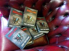 Homeland paperbacks have landed, the office, Hackney, London, UK (gruntzooki) Tags: uk london office books hackney tor ya homeland paperbacks torteen