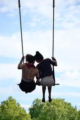 Romantic, Crimen contra reloj, Les Capgirades, T.A.C. 2014, Valladolid, Spain (Fco. Javier Cid) Tags: crimencontrareloj lescapgirades valladolid spain theater circus contemporary street art tac 2014