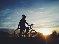 Bike (Jess Petrie Photography) Tags: sunset bikes vsco
