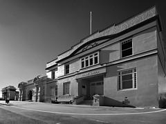 stanley town hall (Matt Jones (Krasang)) Tags: white black stanley infrared tasmania townhall