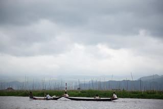 Floating Gardens on Inle Lake