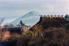 Dereliction and beauty (Tim Ravenscroft) Tags: mountain fuji farmhouse derelict landscape kitayama japan