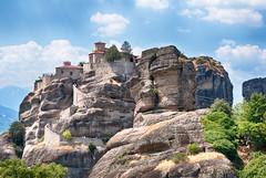 The Holy Monastery of Varlaam. Meteora. Greece. (Peer.Gynt) Tags: the holy monastery varlaam meteora greece