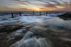 Missing Man (Crouchy69) Tags: sunrise dawn landscape seascape ocean sea water coast clouds sky rocks ivor ivo rowe pool coogee beach sydney australia