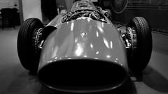 Iconic (Grégoire Parker) Tags: car race course voiture rétromobile paris france old vieux formula ferrari iconic icone nikon d5300 bw black white noir blanc