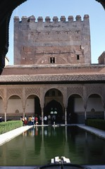 Moorish palace Alhambra Granada Andalucia Spain (foundin_a_attic) Tags: moorish palace alhambra granada andalucia spain alambra ancient andalusia andalusien andelusia arabic architectural architecture art artisanship building capital columns colums courtyard cultural culture destinations detailed dwelling embellished españa europe fabulous fort fortification gothic heritage hispanic hispano historic holiday holidays ibero impressive interior islamic leisure medieval mediterranean monument moors moresque nazarin old ornate palacio picturesque pillars romantic scenery seeing sight sightseeing site spanish stone style tourism