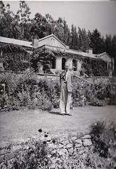 The Residence British Embassy Addis Adaba Ethiopia 1953 (Bury Gardener) Tags: bw blackandwhite oldies old 1950s 1953 ethiopia africa snaps british addisadaba