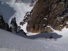 Skiing a classic in frey hut