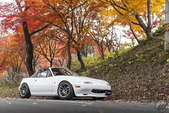 SMALL CAR Mazda Roadster on WORK Emotion CR Kiwami (WORK Wheels Japan) Tags: work workwheels smallcar mazda roadster miata mx5 emotion cr kiwami
