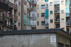 cortile di citt (Zioluc) Tags: urban architecture torino parking courtyard block turin condominium luciobeltrami
