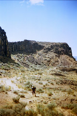 (andybokanev) Tags: 35mm washington northwest adventure climbing vantage centralwashington canonat1 sportclimbing ektar100 campvibes