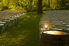 Leftover Wedding Wine (Matt Champlin) Tags: wedding sunset sunlight love nature yard quiet peace wine drink over peaceful calm