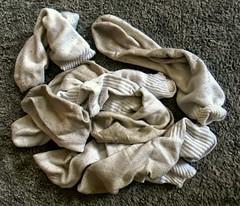 Pile of Dirty White Socks (halfpint34) Tags: gay white feet boys socks fetish point sock worship view pov dirty smell mens rank smelly stinky