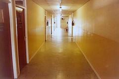 Hallway (Gene Whitmer) Tags: 1981 jeddah 1986 saudiarabia pcaschool