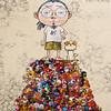 """Painting by Takashi Murakami 村上隆: Pom & Me: On the Red Mound of the Dead, 2013 (Acrylic on canvas mounted on board)"" / Blum & Poe / Art Basel Hong Kong 2013 / SML.20130523.6D.13924.SQ (See-ming Lee 李思明 SML) Tags: china urban hk art dogs cn dead photography hongkong crazy acrylic events fineart paintings photojournalism pop canvas popart creativecommons murakami hkg journalism takashimurakami mortality 6d artbasel canon1740f4l 2013 ccby seeminglee canonef1740f4lusm ä¸-å blumandpoe canon6d ä¸-å½ é¦æ¸¯ blumpoe smlprojects crazyisgood smlfineart smluniverse æææ canoneos6d smlphotography åå¸ æå½± smlevents flickrstats:views=5000 flickrstats:galleries=1 æä¸é æ°è abhk sml:projects=crazyisgood fl2fbp sml:projects=photojournalism æ°èæå½± sml:projects=smlfineart artbaselhongkong2013"