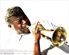 John Douglas (Digital Manipulation 1) (Juan N Only) Tags: music michigan detroit livemusic may gimp trumpet jazz nightclub bebop berts digitalmanipulation flugelhorn trumpeter johndouglas hardbop 2013 criticismwelcome bertsmarketplace flugelhornist juannonly