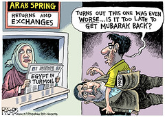 Morsi Exchange (AhmedEsmat) Tags: democracy egypt middleeast muslimbrotherhood hosnimubarak islamists arabspring mohamedmorsi