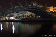 Volos at night 2 (FotisKalai) Tags: reflection night greek nikon nightshot greece nikond3200 volos