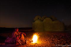 JORDAN // Azrak // Qasr Amra   (mightydudeness) Tags: lightpainting fire desert nightsky oriental startrails bedouin caslte sigma1020mmf456exdchsm nightshoting canoneos7d ringexcellence dblringexcellence tplringexcellence