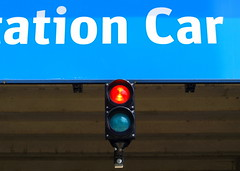 Manchester Lights (Tony Worrall) Tags: auto park city uk light england urban trafficlights car sign bulb warning manchester northwest photos north stop views wait lit carpark gmr moton 2013tonyworrall motionstrip