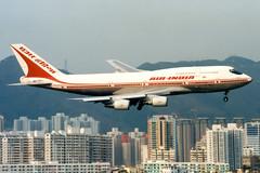 Air India | Boeing 747-300 | VT-EPW | Hong Kong Kai Tak (Dennis HKG) Tags: plane airplane hongkong airport aircraft boeing boeing747 hkg 747 ai aic airindia kaitak planespotting 747300 boeing747300 vhhh vtepw vhhx