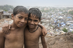 The friendship (Photosightfaces) Tags: friends india boys friend friendship pals buddy together mumbai comrade mates slums