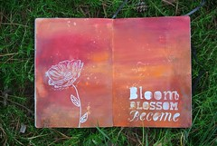 Art Journal - Bloom Blossom Become 2