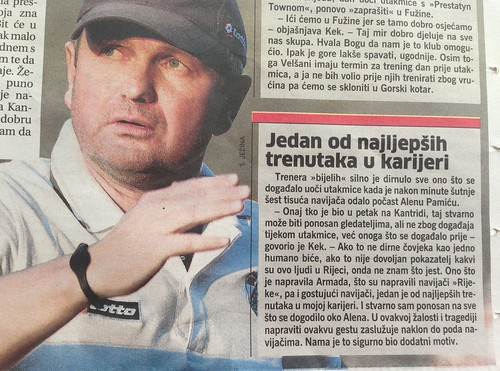 Jdan od najljepših trenutaka u karijeri (Novi List, 14.07.2013)