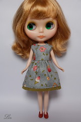 Blythe dress for Etsy