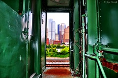 Framed by a train (JayCass84) Tags: camera city urban beautiful architecture train photography photo flickr track pittsburgh pennsylvania awesome traintracks tracks pitt traintrack flick pgh urbanphotography 412 burgh urbanarchitecture steelcity cityarchitecture instagram instagramapp