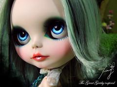 Ting No.11 OOAK Custom Blythe =The Green Light=