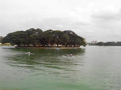 Central view of the lake (ramkeeblr) Tags: lake bangalore ramkumar ulsoor ramkeeblr