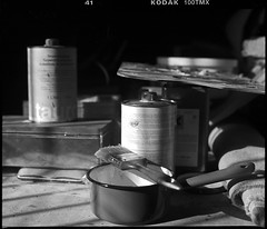 painting studio - 2 (manni39) Tags: mamiya film vintage mediumformat kodak vintagecamera 6x7 atelier rollfilm rb67 tmx100 sekor mittelformat moyenformat mamiyasekor paintersstudio mamiyasekor90mm38