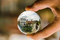 Crystal ball photography 1 (Franco Beccari) Tags: world city trip travel blue red vacation italy white holiday black color colour green art tourism me nature yellow night wow photography photo cool nikon europe italia day fisheye tuscany nikkor toscana crystalball pontremoli d600 refracion