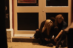 (Beckyoung) Tags: street uk cold students swansea night drunk canon dark out evening town nightout wind drinking teenagers alcohol drunken nightlife dslr studentnight windstreet 1000d canon1000d