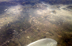Morning mist (ivanBu) Tags: morning mist town fly flying ivan serbia cessna 172 srbija valjevo jutro letenje magla vrsac bukvic vision:mountain=0676