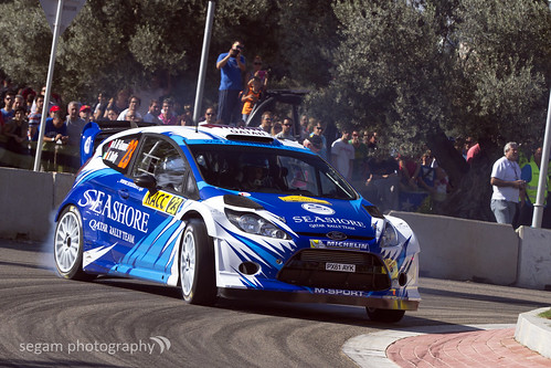 Abdulaziz Al-Kawari / Killian Duffy - Seashore Qatar WRT (Ford Fiesta RS WRC)