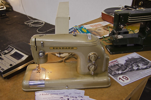 Zündapp sewing machine Type Elcona 2 Zig-Zag, built from 1950 on (7591)