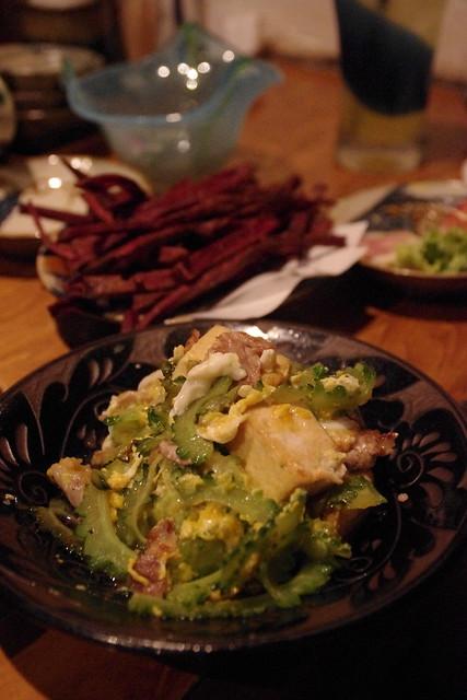 今まで食べた中で一番美味しいと感じたしまぶた屋のゴーヤチャンプルー|沖縄料理しまぶた屋