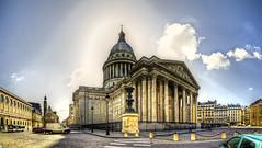 Le Panthéon, Paris (F) (Panoramyx) Tags: panorama paris france frankreich îledefrance frança panoramica francia parijs parís parigi panthéon panteón panteó francelandscapes